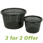 Ubbink Medium Round Planting Basket 21x13cm – 3 pack