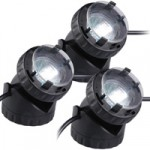 PondXpert Pondolight 3  – Triple Pack Halogen Pond Lights