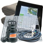 Pondless Waterfall Kit 1 – Medium – Featuring Draper SWP144A Pond Pump