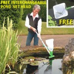 Tensor Tornado Pond Vac with Pond Net Attachment