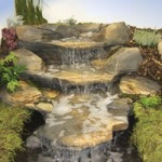 Oase Rockways Rustic Slate Watercourse – Three Piece Concrete Set