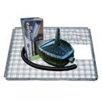 Niagra Waterfall 30cm LED – 3500 Pump – 60cm Grid – 25mm Hose & Clips Kit