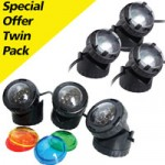 PondXpert Triple LED & Halogen Pond Lights Special Offer