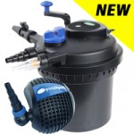 PondXpert SpinClean 6000 + PondPush 4500 Pond Pump