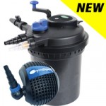 PondXpert SpinClean 12000 + PondPush 8000 Pond Pump