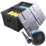 PondXpert MultiChamber 18000 Pond Filter + PondPush 10000 Pond Pump