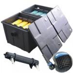 PondXpert MultiChamber 18000 + Pondpush 10000 Pump + 36w UVC