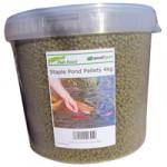 Staple Pellets Pond Food 4kg Tub