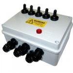 5 Way Weatherproof Junction Box