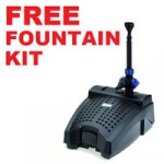 Oase Filtral 6000 – Free Fountain Kit