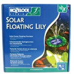 Hozelock Solar Floating Lily Fountain Pump