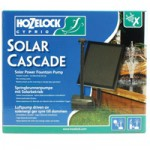 Hozelock Solar Cascade Fountain Pump