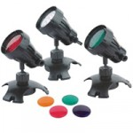 PondXpert Brightpond LED Triple Spotlights