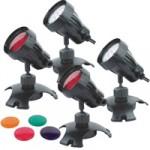 PondXpert Brightpond LED Spotlights – Four Pack