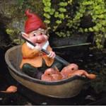 Bermuda Pond Gnome – Lazy Days