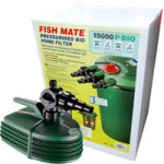 Fishmate 15000 Pressure Filter BIO Plus Fishmate 9000 Pump
