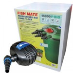 Fishmate 15000 Pressure Filter BIO Plus FreeFlow 10000 Pump