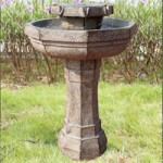 PondXpert Solar Bird Bath Water Feature