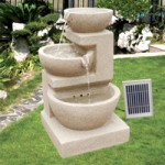 PondXpert Triple Tumble Solar Water Feature