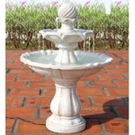 PondXpert Solar Fountain Water Feature – Elegance
