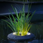 Velda Floating Plant Island With Light