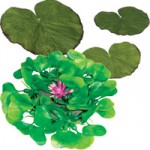 Artificial Floating Pond Plant Set
