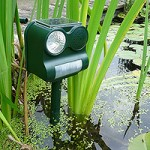 Tensor Solar Animal Repeller – Featuring Noise And LED Light