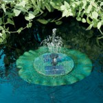 Smart Solar Solar Lily Floating Fountain