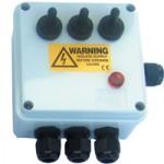 3-way Weatherproof Switch Box