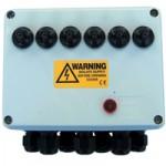 6-way Weatherproof Switch Box