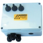 3-way Armoured Cable Weatherproof Switch Box