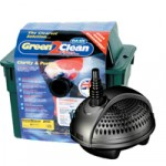 Green 2 Clean 3000 Pond Filter and Pondomax Pump 1500 Pond Pump Set