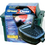 Green 2 Clean 12000 Pond Filter & FlowMaster 4500 Pond Pump Set