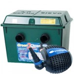 Green2Clean 18000 Filter & PondPush 6000 Pond Pump Set