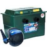 Green2Clean 48000 Pond Filter & Pondpush 12000 Pond Pump Set
