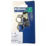 12mm Zinc Hoseclip – pair