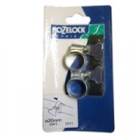 20mm Zinc Hoseclip – pair