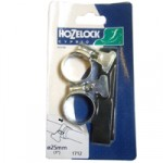 25mm Zinc Hoseclip – pair