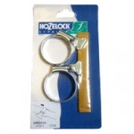 40mm Zinc Hoseclip – pair